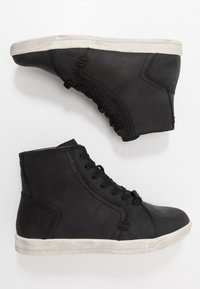 Harley Davidson - PUTNAM - High-top trainers - black - 1