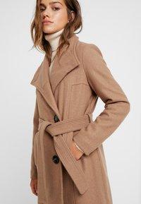 Vero Moda Petite - VMDANIELLA LONG - Classic coat - tobacco brown - 3