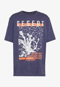 TOM TAILOR MEN PLUS - Print T-shirt - blue - 2