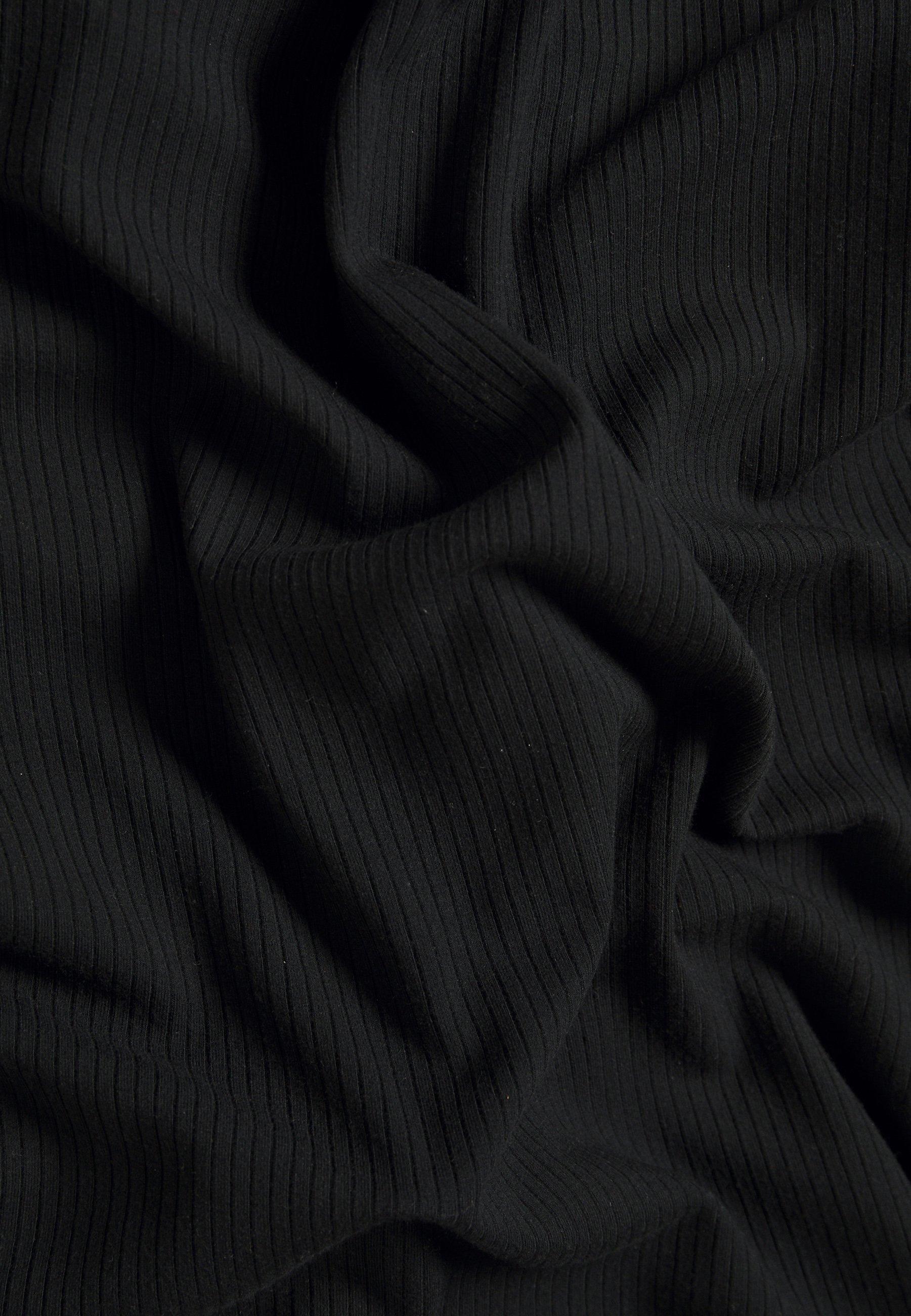 Abercrombie & Fitch MIDI Freizeitkleid black/schwarz
