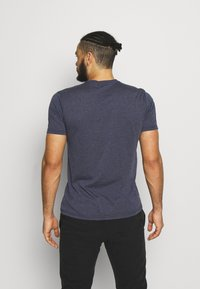Salewa - ALTA VIA DRY TEE - T-shirt med print - premium navy melange - 2