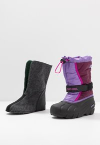 Sorel - YOUTH FLURRY - Snowboot/Winterstiefel - purple dahlia/paisley purple - 6