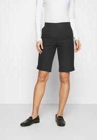 Marks & Spencer London - CHINO - Shorts - black - 0