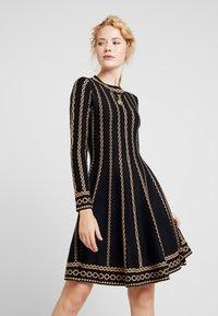 Derhy - NAVIRE - Jumper dress - black - 0