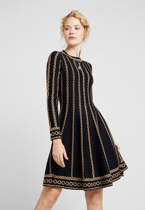 NAVIRE - Jumper dress - black