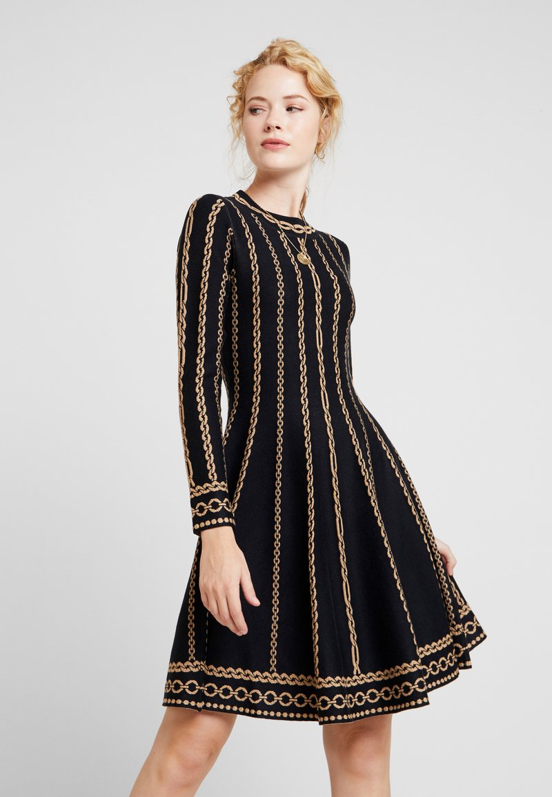 Derhy - NAVIRE - Jumper dress - black