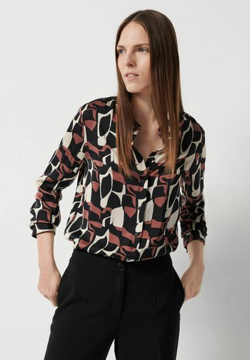 Button-down blouse - beere