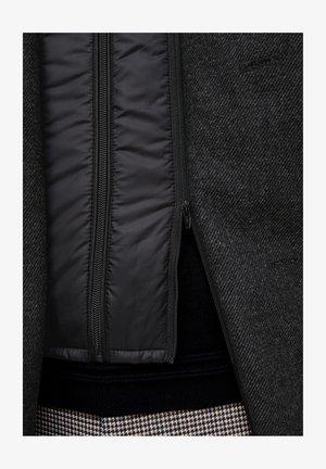 Short coat - black double face