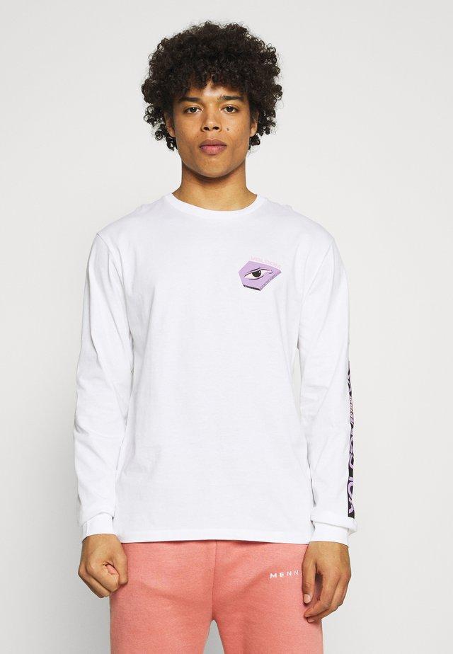 M. LOEFFLER FA LS - T-shirt à manches longues - white
