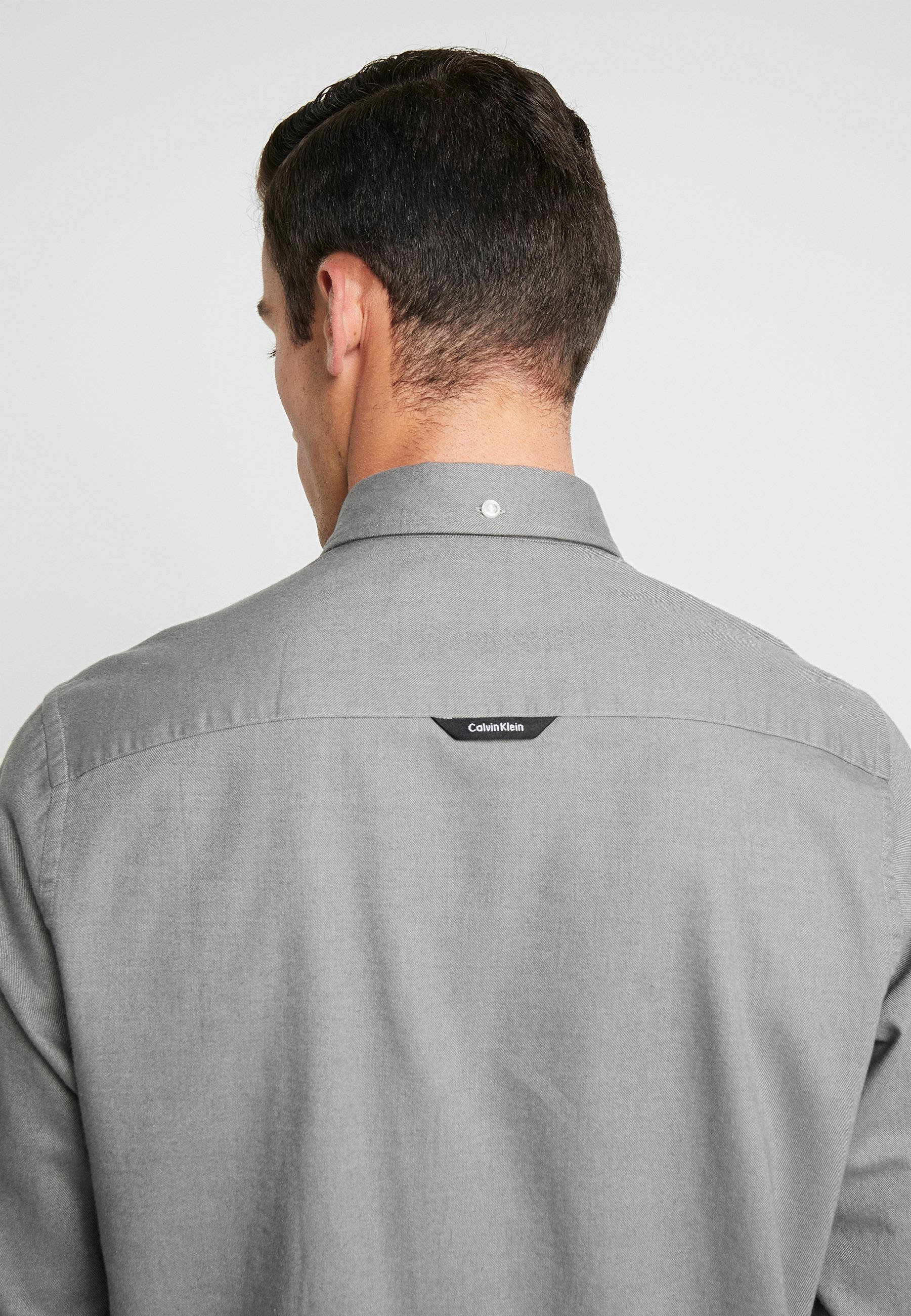 Calvin Klein BUTTON DOWN - Chemise - grey