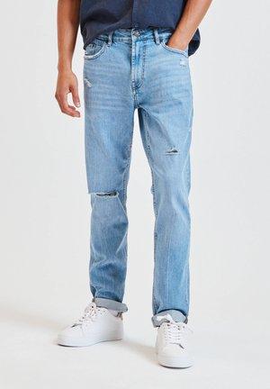 Jeans slim fit - stone blue denim