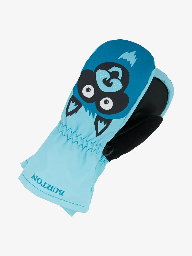 Burton - TODDLER GROMMITT - Mittens - blue/grey