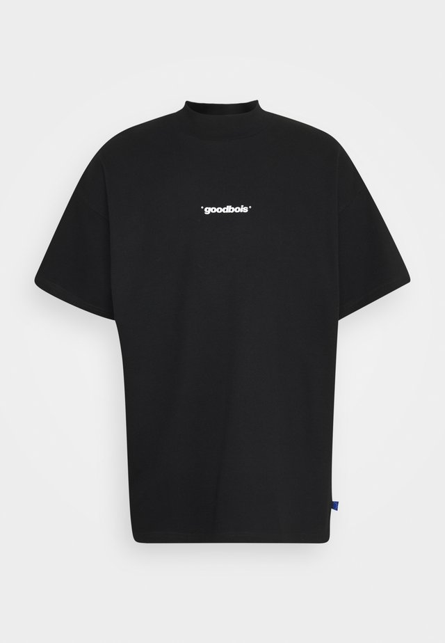 OFFICIAL MOCKNECK - T-shirt print - black