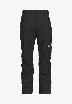 PRO RACER RESCUE PANT - Spodnie narciarskie - onyx black