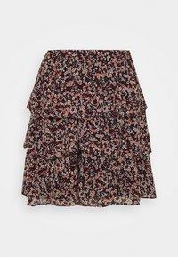 MICHAEL Michael Kors - DAINT BLOOM TIER SKT - Mini skirt - dark ruby - 0