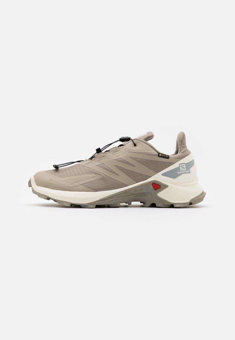 Salomon - SUPERCROSS BLAST GTX - Trail running shoes - vintage kaki/vanilla/quarry