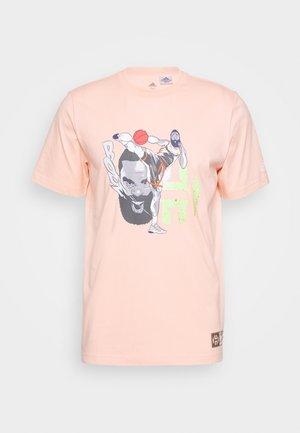 HARDEN KICK - T-shirt imprimé - pink