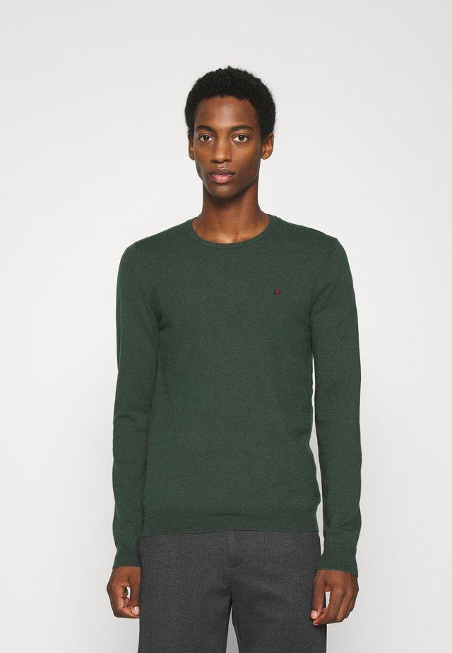 POKI - Pullover - dark jade green