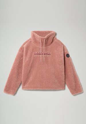 TEIDE - Fleece jumper - pink woodrose