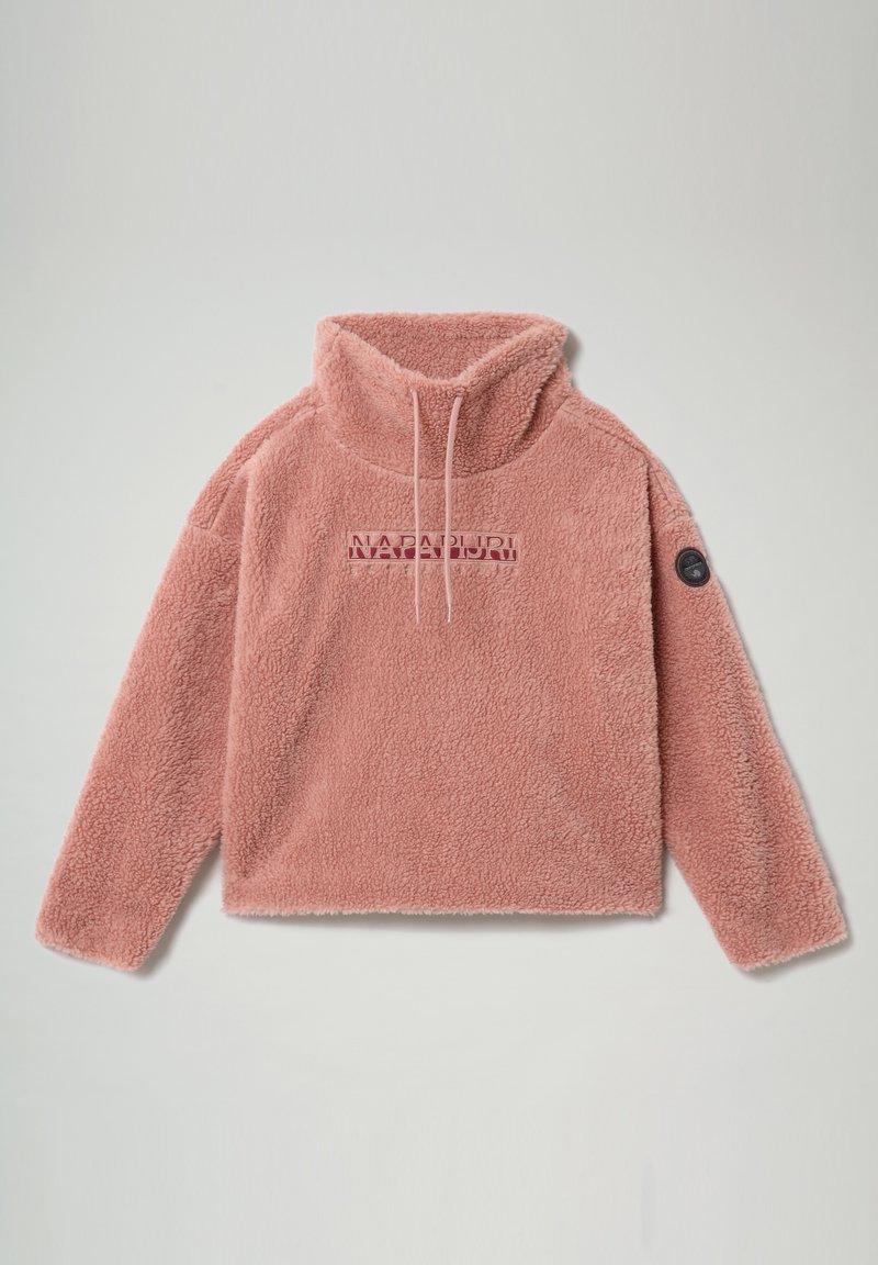 Napapijri - TEIDE - Fleece jumper - pink woodrose