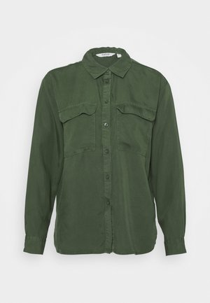 BYJOVIE - Button-down blouse - jungle green
