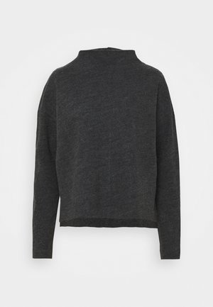 KNIT - TURTLENECK - Jumper - grey dark