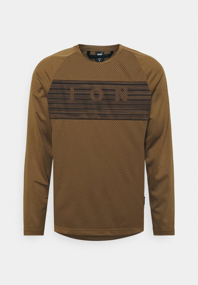 SCRUB  - Longsleeve - mud brown