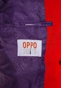 OppoSuits - BOYS DEVIL SET - Blazer jacket - medium red - 5