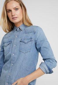 Polo Ralph Lauren - KATHERINE WASH - Skjorte - medium indigo - 3