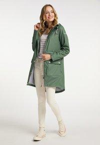 Schmuddelwedda - Waterproof jacket - oliv - 0
