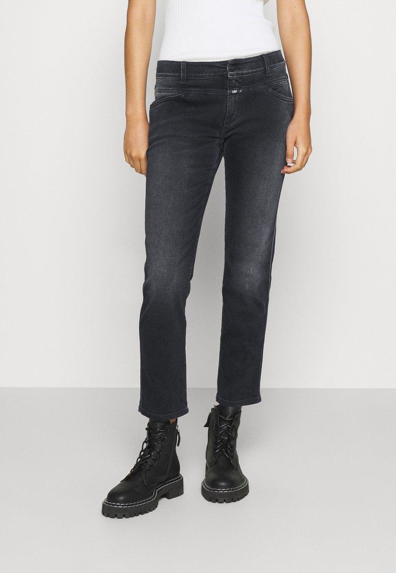 CLOSED - PEDAL QUEEN - Straight leg jeans - dark grey