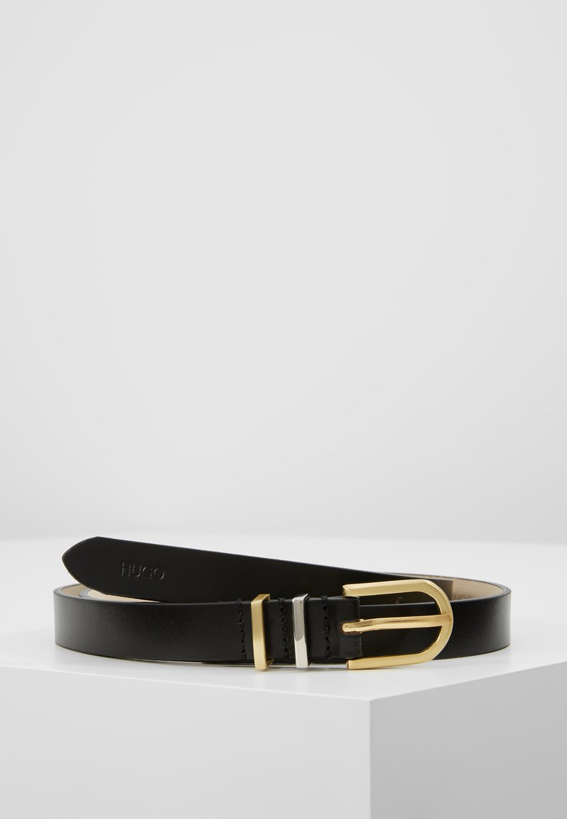 HUGO - ZOE BELT - Cintura - black