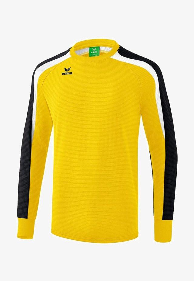 LIGA 2.0 SWEATSHIRT KINDER - Sweatshirt - gelb / schwarz