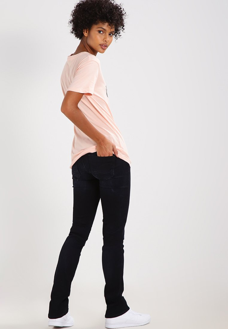 Forudbestille GStar MIDGE SADDLE MID STRAIGHT   Jeans Straight Leg  rink superstretch QcQPU