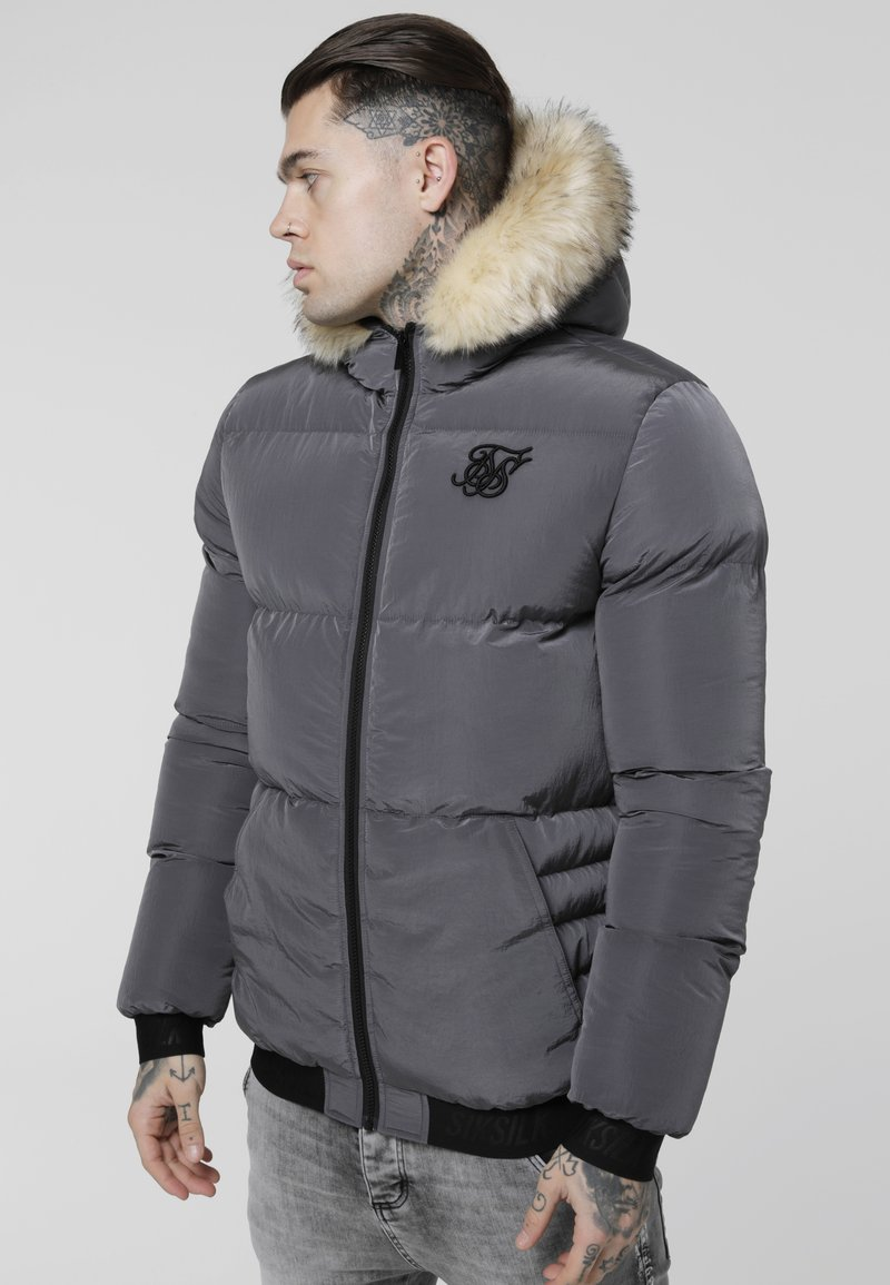 SIKSILK - DISTANCE JACKET - Winterjas - grey