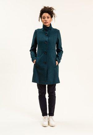 IBALLAINA - Short coat - petrolblau