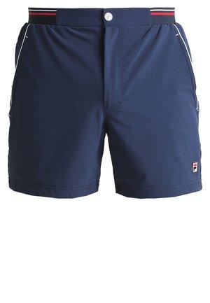 STEPHAN - Pantalón corto de deporte - peacoat blue