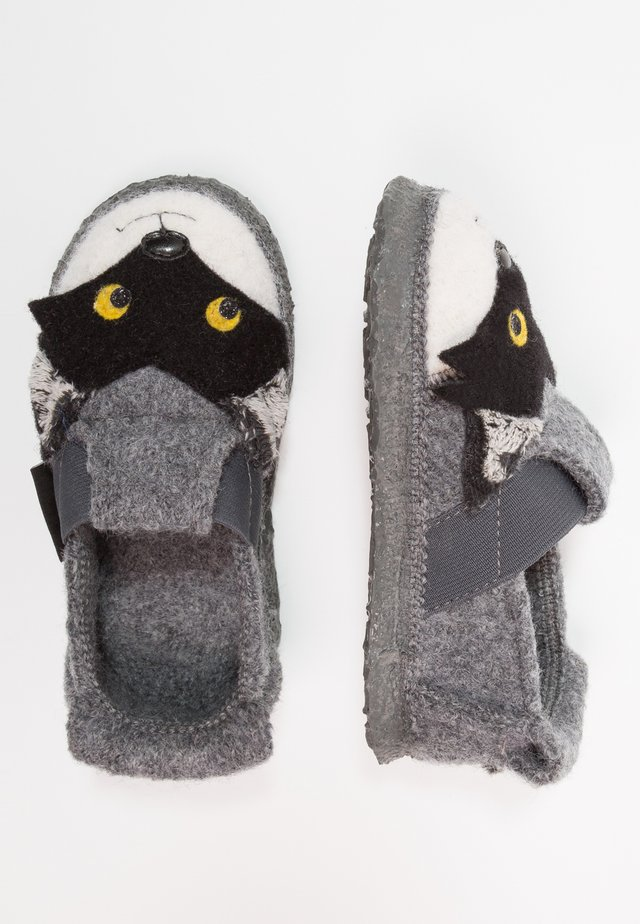 RACOON - Slippers - schiefer