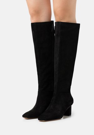 TESS SQUARE TOE SHAFT BOOT - Boots - black