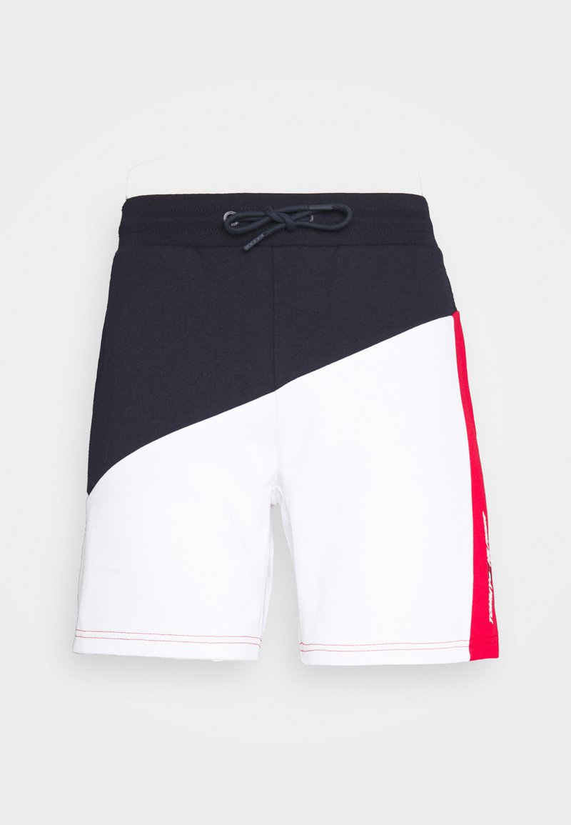 Tommy Hilfiger - BLOCKED TERRY SHORT - Short de sport - blue