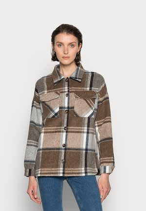 TOMINE - Summer jacket - brown/grey