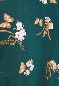 Vero Moda - VMSIMPLY EASY TIE SHORT DRESS - Day dress - sea moss/ann - 2