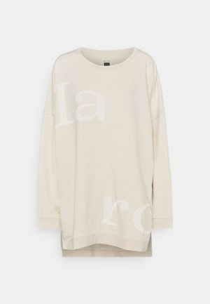 Sweatshirt - raw cream
