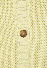 esmé studios - PEYTON O-NECK - Kardigan - dusty yellow - 2