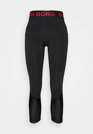 CHIA BLOCKED - Legging - black beauty