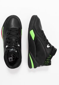Champion - MID CUT SHOE ZONE MID 90'S - Basketsko - black/fluo lime/fluo fuxia - 1