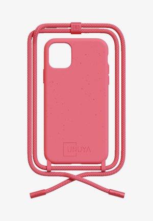 I PHONE XR ALL PINK SET HANDYKETTE - Telefoonhoesje - BIODEGRADABLE IPHONE XR