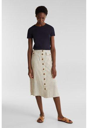 LINEN FOREVER - Maxi skirt - sand 4