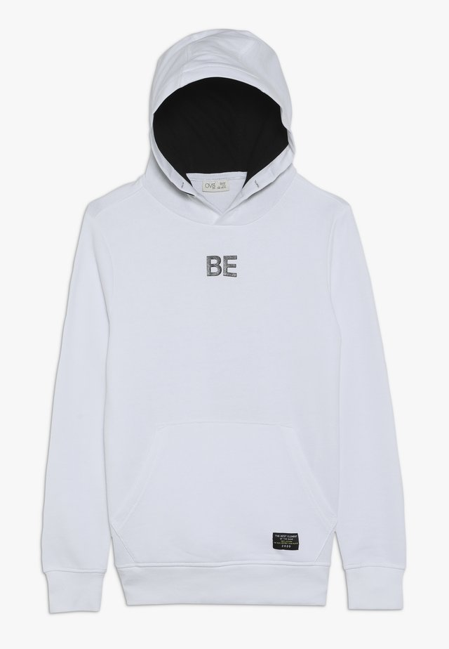 SWEATER HOOD - Sweat à capuche - white