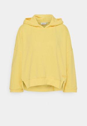 ONLENJA LIFE HOOD - Sweatshirt - sunshine